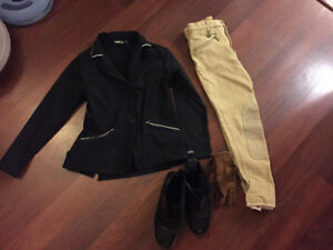 Horse Backriding Youth Clothing- Excellent Condition