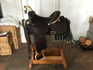 Billy Cook saddle 15""