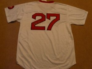 Carlton Fisk Boston Red Sox Autographed jersey