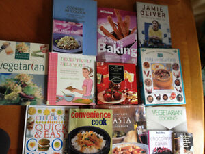Various Cookbooks For Sale