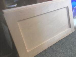 4 pcs maple drawer fronts