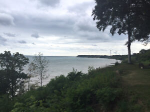 Port Dover, on the lake.