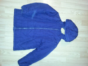 Blue fall jacket
