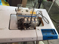 2 Japanese Juki industrial sewing machines for $1000