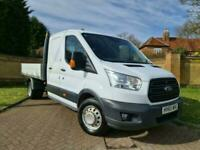 2015 Ford Transit 2.2 TDCi 125ps Double Cab Chassis Tipper Diesel Manual