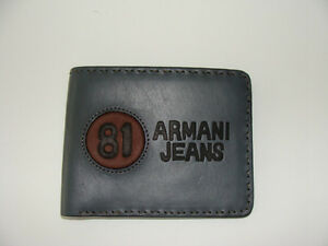 "Brand New ""Armani Jean"" Leather Wallet $35"