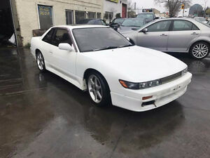 JDM Nissan Silvia S13 Coupe TURBO 1992