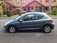 PEUGEOT 207 SPORT 3 DOOR HATCHBACK FULL YEARS MOT