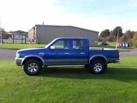 2005 05 Ford Ranger 2.5TDdi Crewcab 4x4 Pickup XLT Double Cab