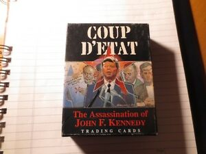 THE ASSASSINATION OF JOHN F KENNEDY TRADING CARDS