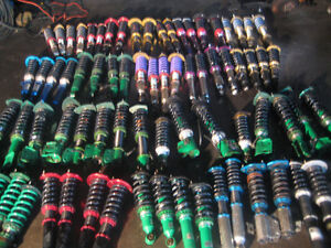 JDM ADJUSTABLE COILOVERS SUSPENSION SHOCKS IMPORTED FROM JAPAN