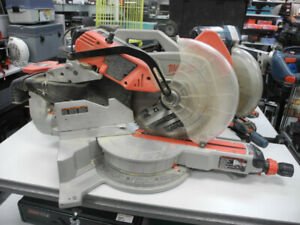 "Milwaukee 12"" Double Bevel Sliding Compound Mitre Saw w/Stand"