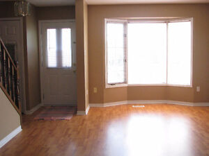 3 Bedroom Townhouse with large den. Available Jan. 1st.
