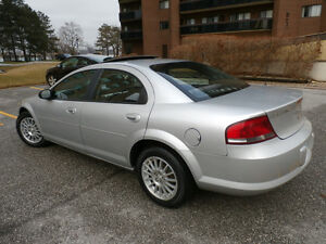 2005 Chrysler Sebring, Low Kms (( Safetied & E-tested ))