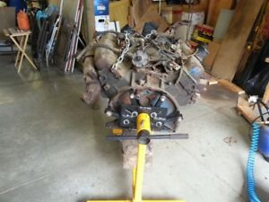 Dodge 440 engin with stand & tranny