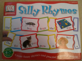 NEW 'Silly Rhymes' DK Games