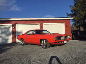 1974 Plymouth Barracuda Rallye