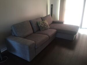 IKEA KIVIK L-shaped couch