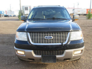 2004 FORD EXPEDITION EDDIE BAUER LEATHER DVD HDTV AMAZING