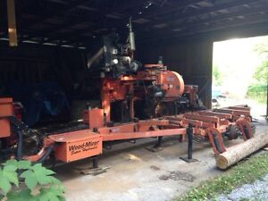 Woodmizer sawmill super hydraulic 40 Kawartha Lakes Peterborough Area image 1
