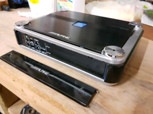 Alpine 400 rms 4 channel amp pdx.