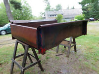 Antique Chevy pick up truck box