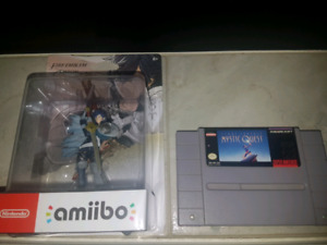 Chrom Amiibo + Final Fantasy Mystic Quest