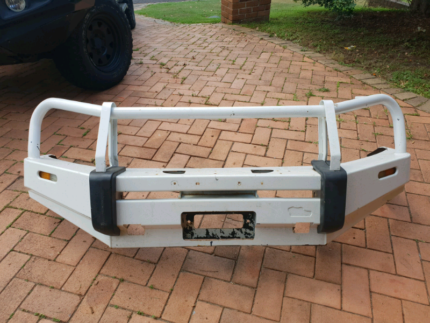 The Ironman Winch Bull Bar in white Kenmore Brisbane North West Preview