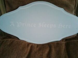 Baby boy bedroom sign