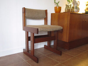 Danish Solid Teak / Teck Dining Chairs - Mid Century Modern