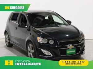 2015 Chevrolet Sonic RS TURBO A/C CUIR TOIT MAGS