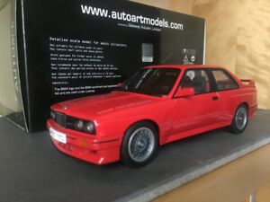 Autoart 1/18 BMW E30 M3 Sport Evolution