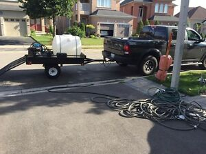 Power washer mobile