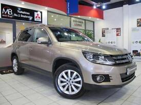2013 VOLKSWAGEN TIGUAN 2.0 TDi BlueMotion Tech Match 5dr DSG 4MOTION Auto