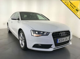 2014 AUDI A5 SE TDI DIESEL 5 DOOR HATCHBACK £30 ROAD TAX 1 OWNER SERVICE HISTORY