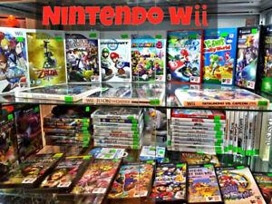 Nintendo Wii Games! Mario Party 8 New Super Mario Bros Zelda +