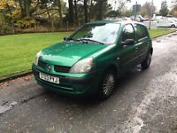!!LOW MILIES!!Renault Clio expression 16v