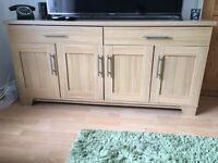 HARVEY's SIDEBOARD AND MATCHING TV UNIT