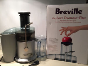 Breville Juicer w/ extra cleaning brush