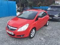 2008 VAUXHALL CORSA 1.2 L ***3MONTHS WARRANTY***FINANCE AVAILABLE