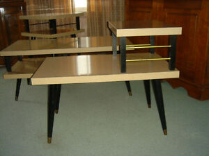 Vintage 50's 60's Arborite Coffee and End Tables London Ontario image 2
