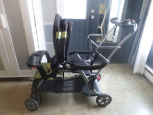Poussette Double Baby Trend - Sit N Stand Stroller LX