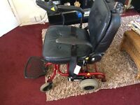 COLLAPSIBLE POWERED WHEELCHAIR