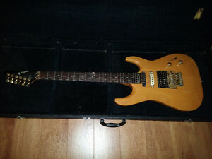 24 Fret Samick electric guitar with Floyd Rose