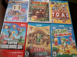 Games for Nintendo Wii U