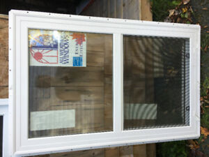 Vinyl Window. Single hung, energy efficient window, never used.