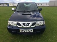 NISSAN TERRANO SPORT TD - 2664cc 2004 LONG MOT ONE OWNER LEATHER SEATS