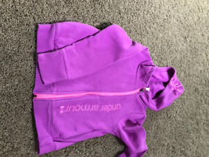 Girls under armour hoodie