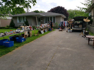 Huge yard sale Saturday May 26th. 98 leaside Dr st.catharines