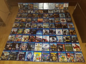PS1, PS2, PS3, & PS4 Games For Sale